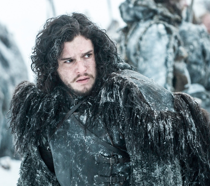 Game of Thrones' Kit Harrington as Jon Snow