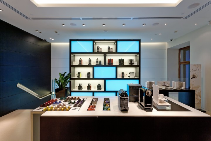 Boutique de Nespresso en San Petersburgo